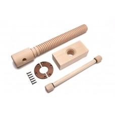 Wood Vise Screw - Premium Kit