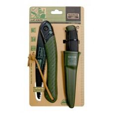 Foldable saw and Knife set