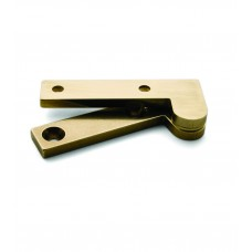 L-23 brass offset pivot hinge