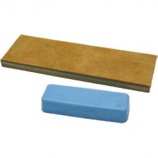 Leather Sharpening Strop with Polishing Compound