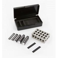 Veritas 9-Piece Set-Up Blocks, Metric Set