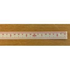 Incra Lexan Inch Scale - 16-0cm
