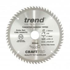 Craft saw blade 190mm x 60 teeth x 30 x 1.55 for DCS575