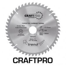 Craft saw blade crosscut 250mm x 24 teeth x 30mm thin