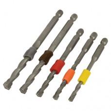 Trend Snappy masonry drill 5pc depth band - shank 1/4 hex